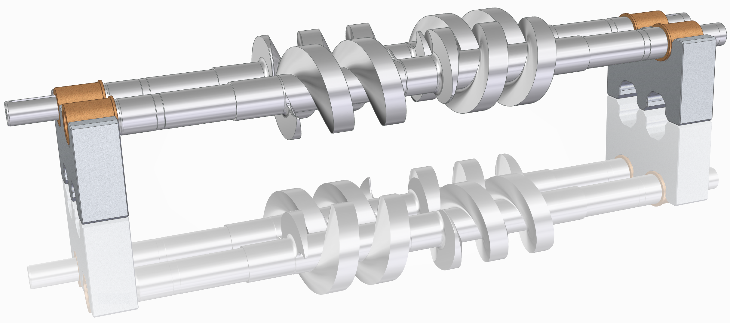 Two Spindle Screw
